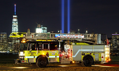 September 11, 2016 Tribute Of Light & Apparatus