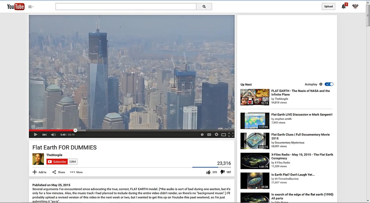 "Listen to this idiot reading. While the video opens with him taking a helicopter ride past the new 'Freedom Tower' (Death & War Tower, is more like it):  <a href=""https://www.youtube.com/watch?v=djgPdJ9u4hE"">https://www.youtube.com/watch?v=djgPdJ9u4hE</a>"