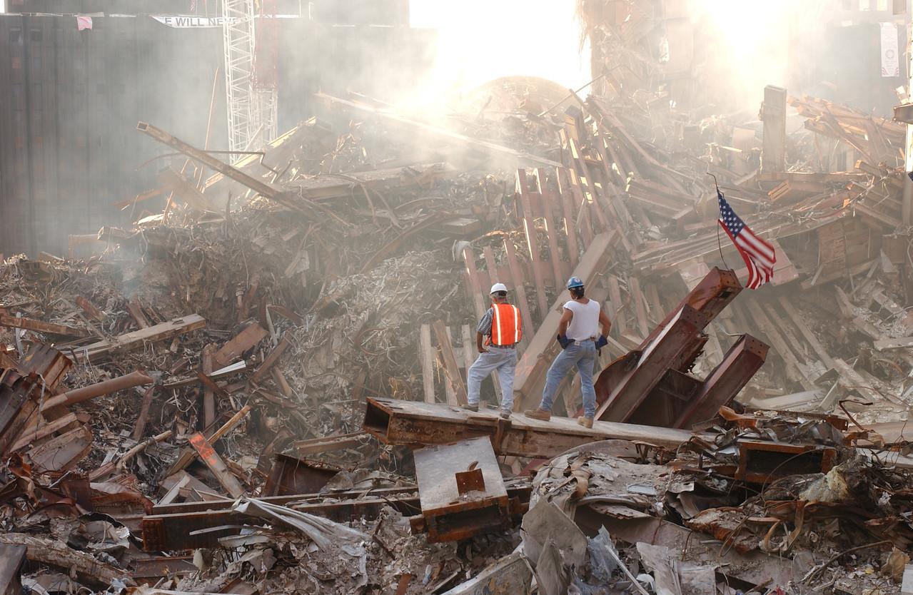 World Trade Center, New York 10-4-2001.  Andrea Booher/FEMA News Photo