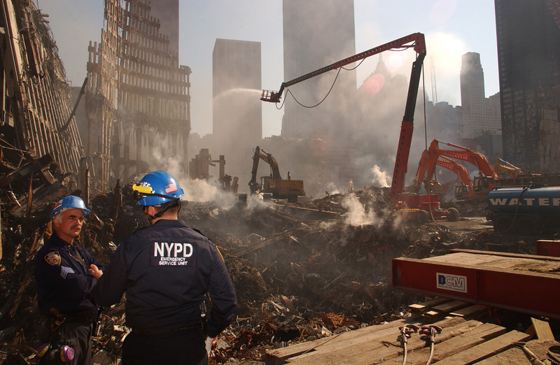 World Trade Center, New York 10-19-2001 <br /> Andrea Booher/FEMA