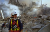 World Trade Center, New York 9-13-2001. Urban Search and Rescue specialists.<br /> Andrea Booher/FEMA News Photo