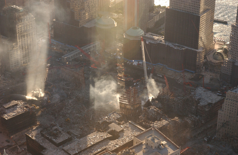 World Trade Center, New York 10-8-2001 <br /> Andrea Booher/FEMA