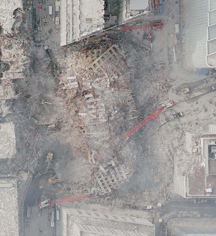 WTC  7 debris pile