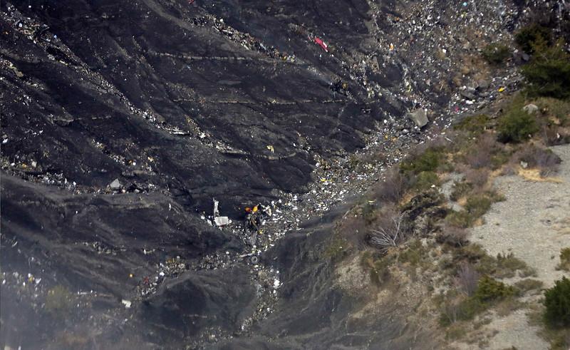 Germanwings crash site.