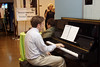Piano music greeted newcomers, as they made their way from the front door to the registration desk.