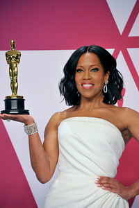 """ACADEMY AWARDS 91ST OSCARS PRESSROOM HELD AT THE LOWES HOTEL IN HOLLYWOOD CALIFORNIA ON FEBRUARY 24,2019. BEST SUPPORTING ACTRESS REGINA KING """"IF BEALE STREET COULD TALK"""" PHOTOGRAPHER VALERIE GOODLOE"""
