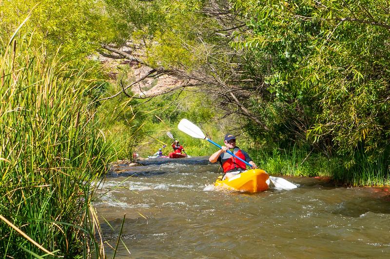 Verde River Kayaking - Tapco to Tuzi - 9/21/19