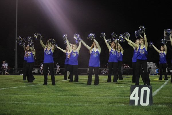 9/22 Homecoming Drill Team