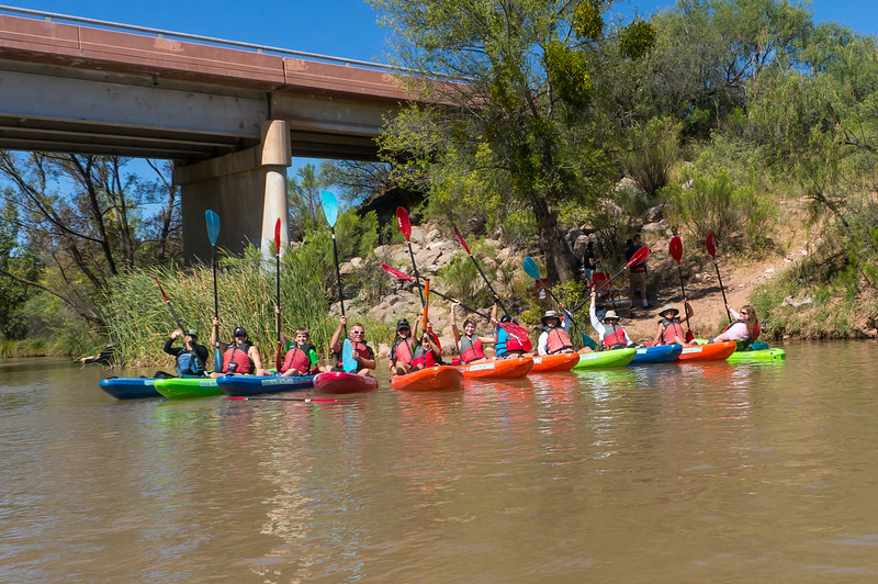 Verde River Institute Float Trip, Tapco to Tuzi, 9/23/17