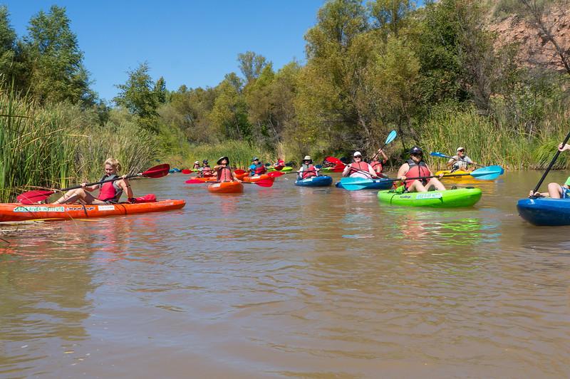 Verde River Institute Float Trip, Tapco to Tuzi, 9/23/17