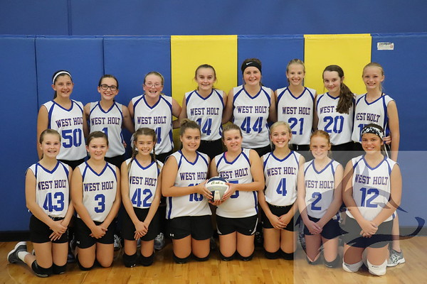 9/25/18 JH Volleyball - Team & Individuals
