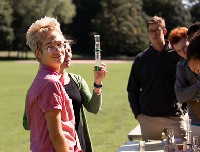 AP Environmental Science taking soil samples
