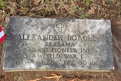 BOADLEY, ALEXANDER