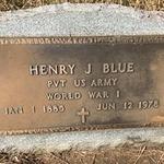 BLUE, HENRY J