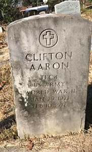 AARON, CLIFTON