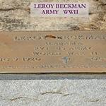 BECKMAN, LEROY