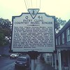 Historic marker.  Winchester, Virginia.