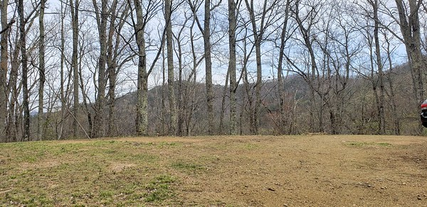 Small cleared area on Tract E with great views. Great for campouts or remote cabin