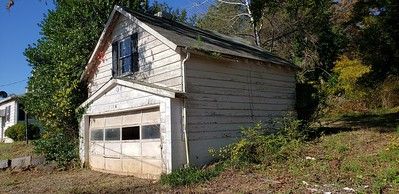 Garage with room above