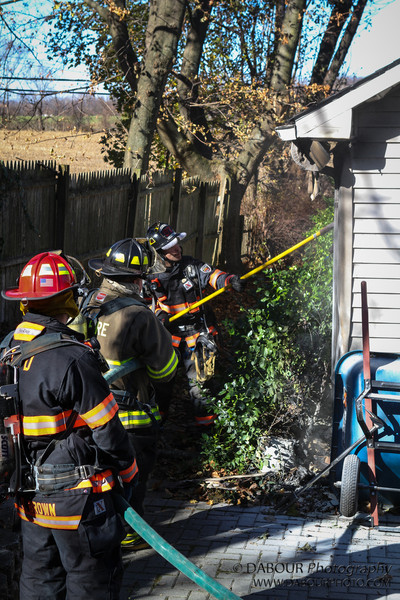11/14/2012. Greenwich Twp, NJ. A structure fire was reported in the 300 block of Greenwich St in Greenwich Twp., NJ at 11:38am.