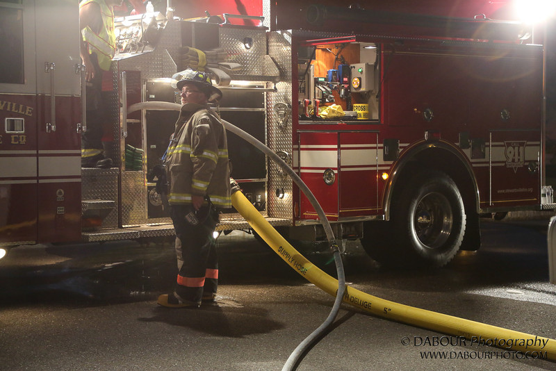 Structure Fire - Garage Garbage Can