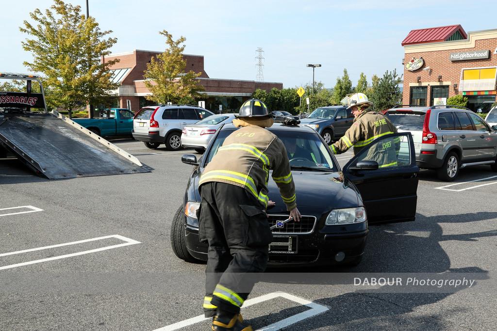 Fuel Spill at Applebees