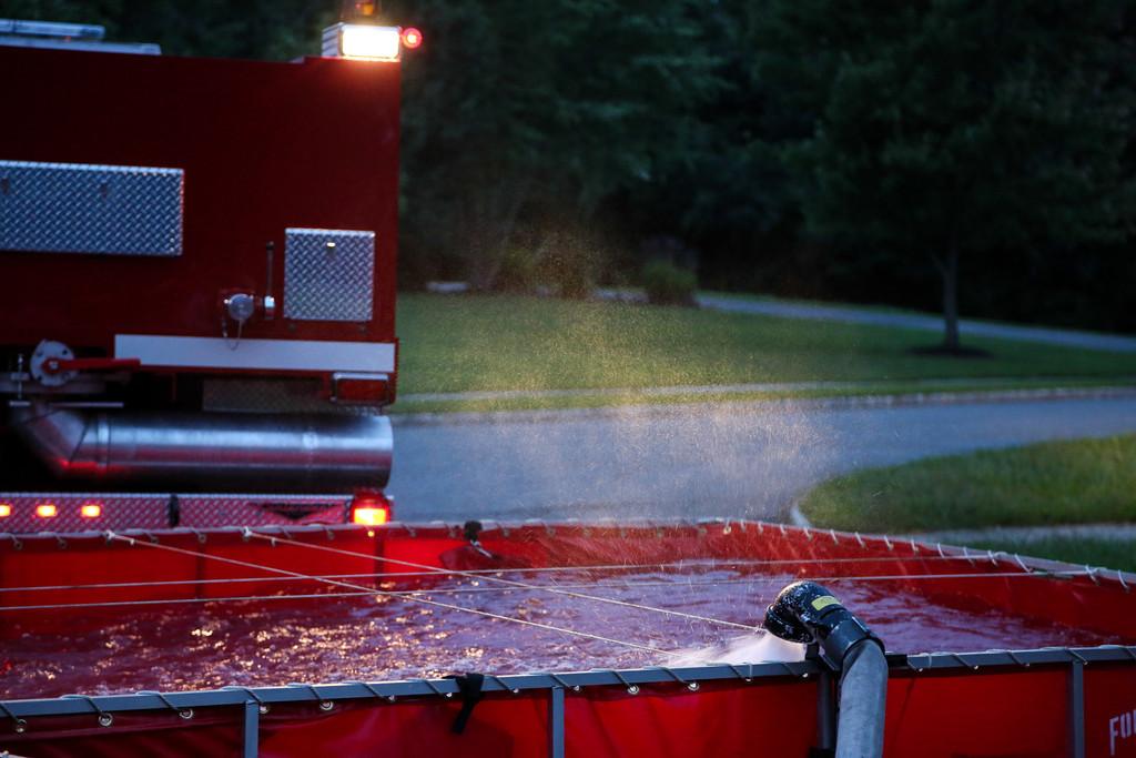 Tanker Fill - Dump Sites Drill