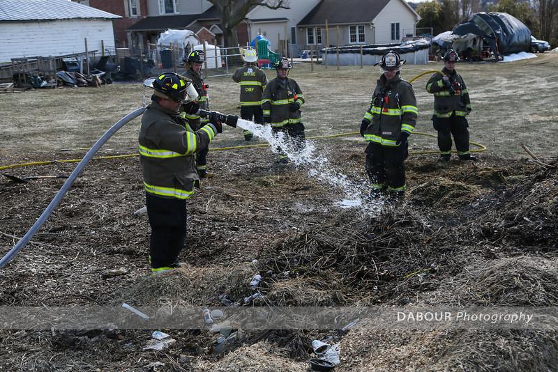 Valerie Pl Mulch Fire