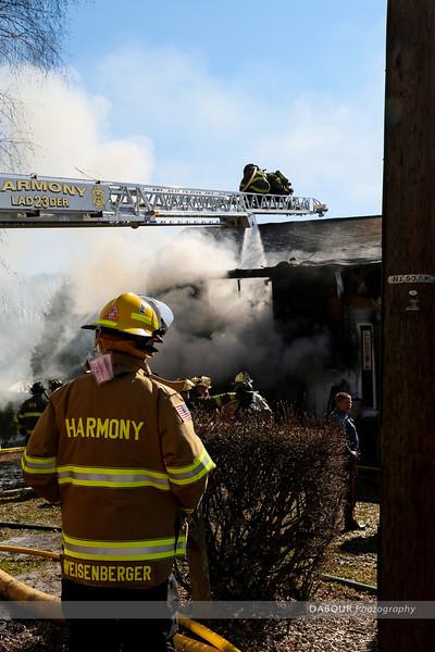 Warren St Structure Fire