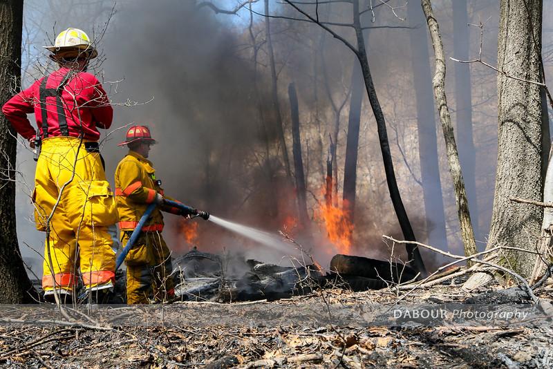 Pohatcong Twp Brush Fire