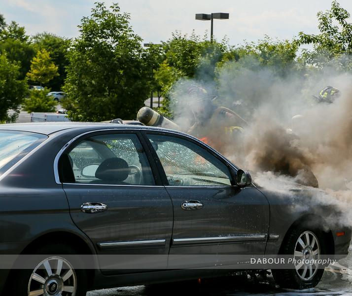 Car Fire five Below