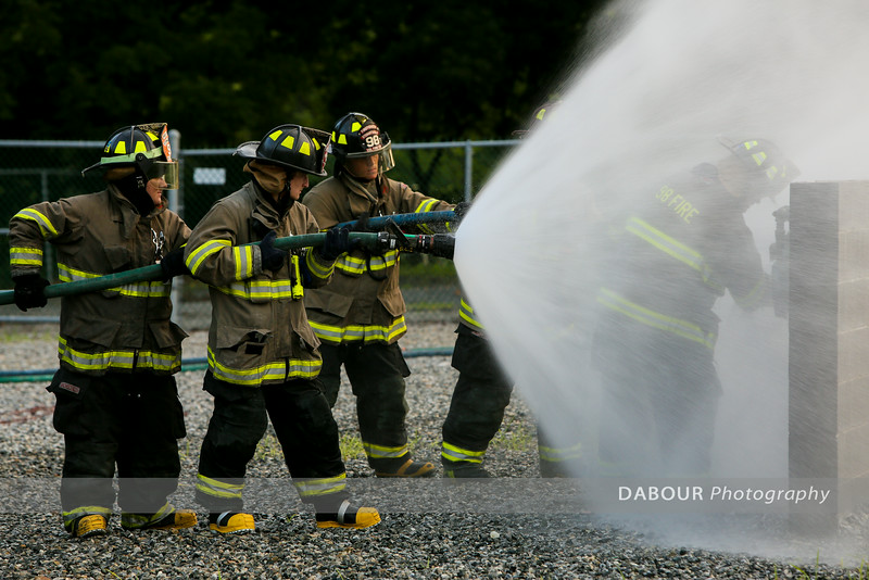 Natural Gas Live Burn Drill