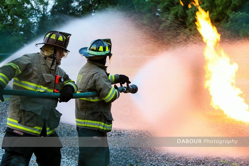 Natural Gas Live Burn Drill