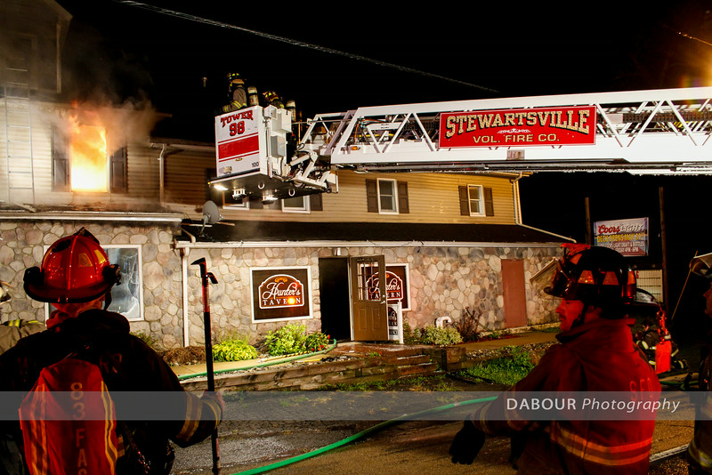 Hunters Tavern Structure Fire