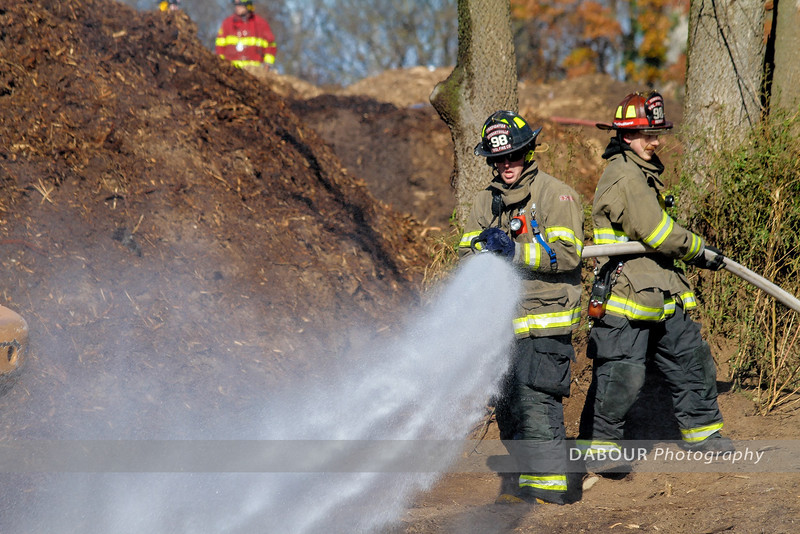 Harmony Mulch Fire