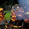 Live Burn Drill At WCFA
