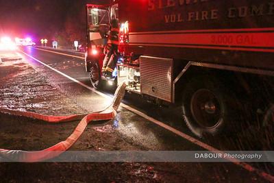 Barn fire on 400 Block of 519 on Nov. 10, 2015