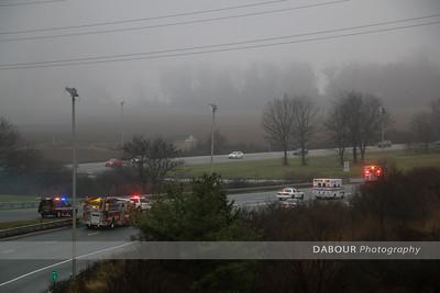78 East Car Fire Dec. 27, 2015