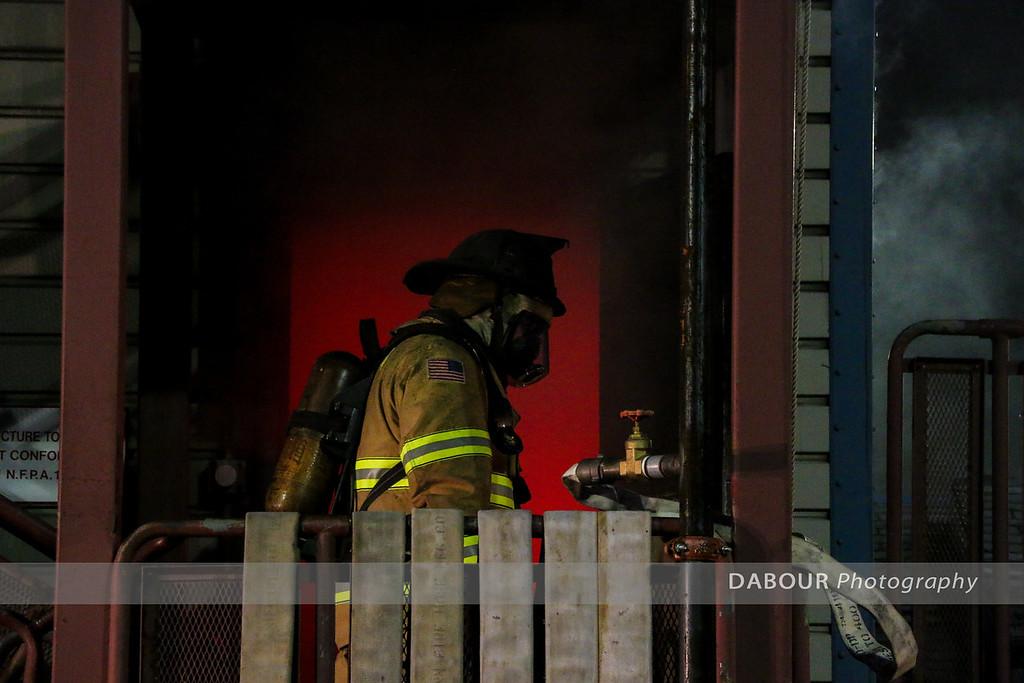 Live Burn at WCFA April 25, 2016