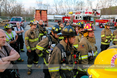 Live Burn at WCFA April 25, 2016
