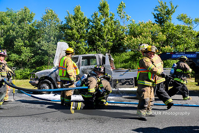 78 East MM4-5 Truck Fire June 14, 2016