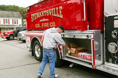 Stewartsville Fire Co. gets new water tender  truck