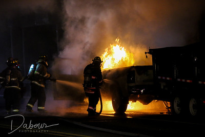 Pickup Truck Fire Franklin Twp NJ