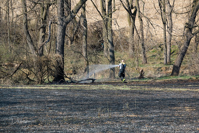 Brush Fire S Main St Greenwich Twp