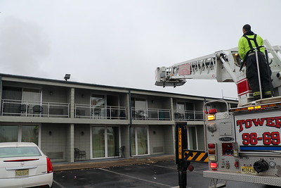 Structure Fire at Americas Best Value Inn