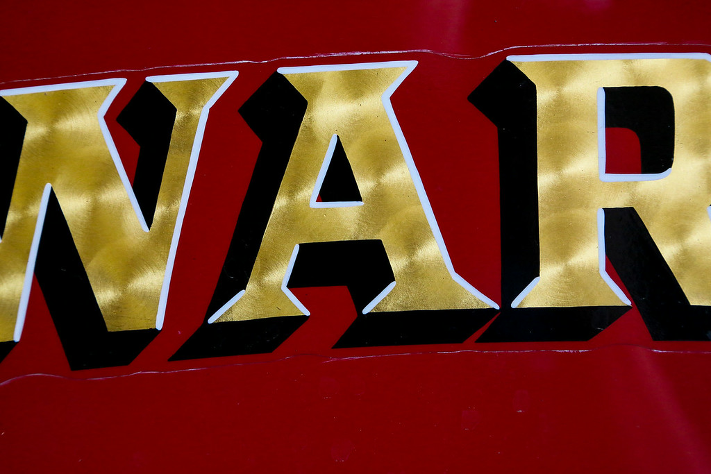 98 Fire Maltese Cross and Lettering