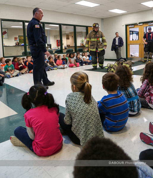 Fire Prevention Visit at Greenwich Elementary School