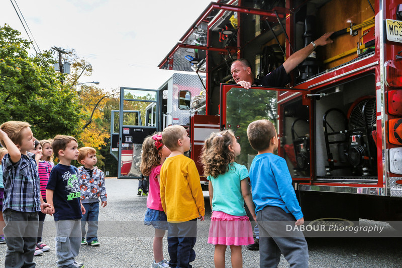 Fire Prevention Visit at Greenwich Nursery School