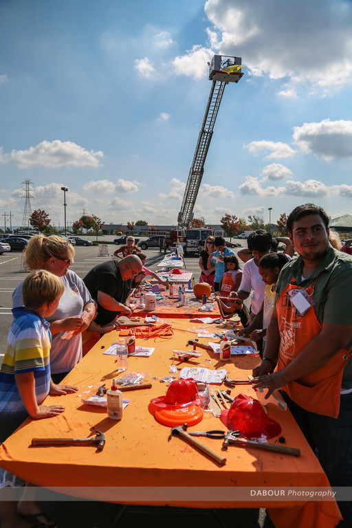 Home Depot Fire Safety Day 2013