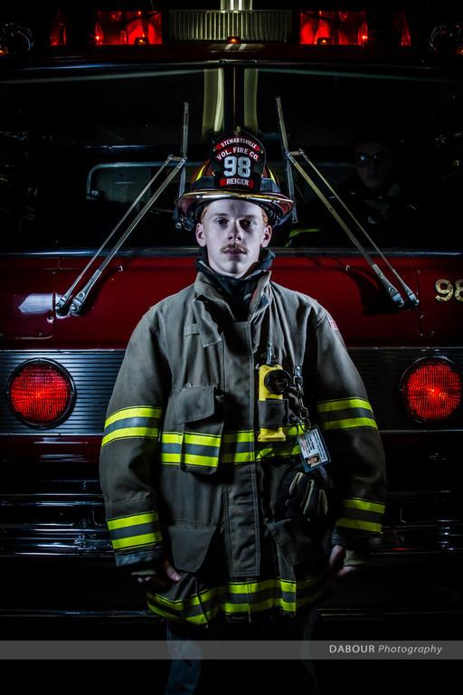 Cody Reiger, Firefighter, 98 Fire, SFD